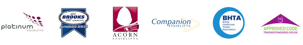 Brand Partner Logos | Platinum Curved Stairlifts