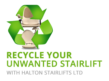 Recycle Your Unwanted Stairlift | Stairlift Removal | Halton Stairlifts