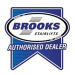 Brooks Logo | Outdoor Brooks Stairlift | Halton Stairlifts