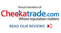 Reconditioned Curved Stairlifts Checkatrade Logo | Halton Stairlifts