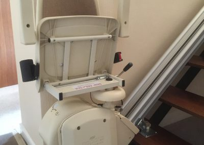 Acorn-120-Superglide-Straight-Stairlift Folded