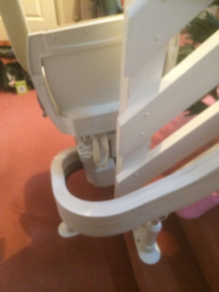 Acorn 180 T565 Curved Stairlift Rail