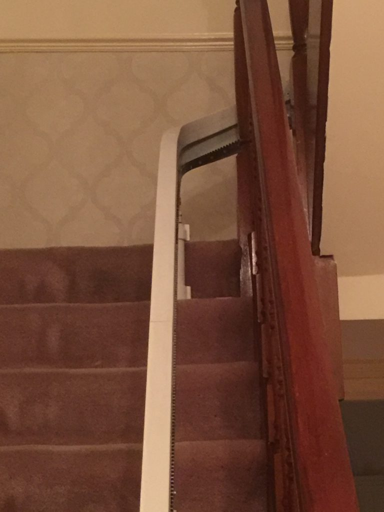 Acorn Curved Stairlift For Curved Staircases Rail