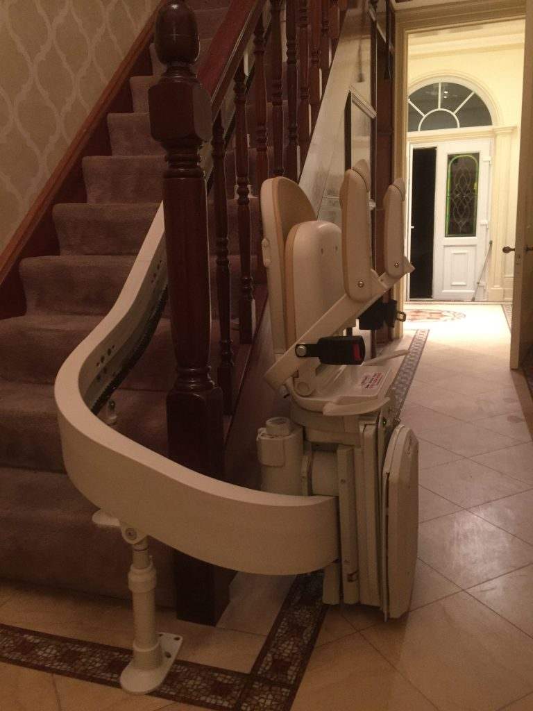 Acorn-Curved-Stairlift-Pictures