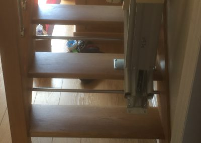 Acorn Slimline Stairlift Hinged Track