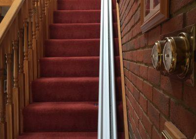 Acorn Stairlift Straight Stairlift Track