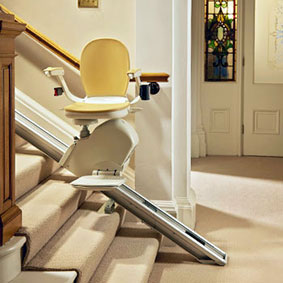Acorn Straight Stairlift Hinged Track
