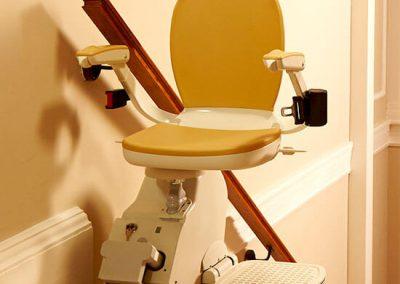 Acorn Straight Stairlift Swivel Seat