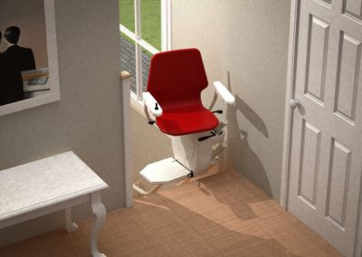 Bespoke-Infinity-Curved-Stairlift-Chairlift-Halton-Stairlift