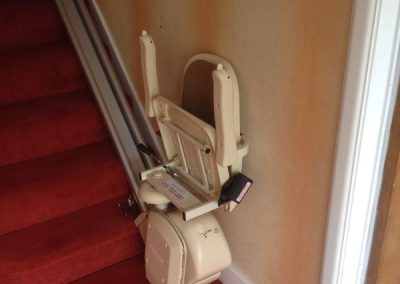 Brooks-Acorn-Straight-Stairlift-Chairlift Folded