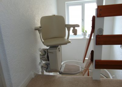 Halton Curved Signature Stairlift Folded Chair lIft Swiveled Chair