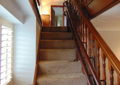 Halton Curved Signature Stairlift Fully Bespoke For Curved Stairs