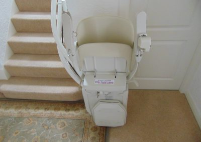 Halton Signature Curved Stairlift Track Folded