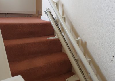 Halton Signature Curved Stairlift Track