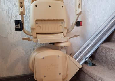 Halton Stairlifts Compact Stairlifts Folded