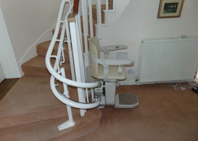 Halton Stairlifts Spiral Curved Stairlifts