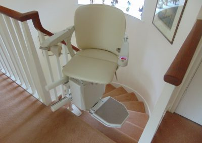 Halton Stairlifts Spiral Curved Stairlifts Swiveled