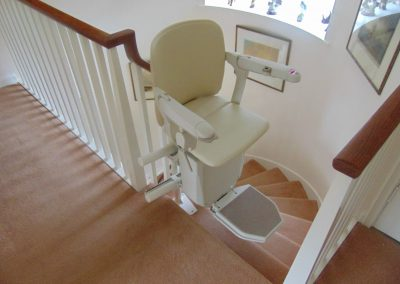 Halton Stairlifts Spiral Curved Stairlifts (8)