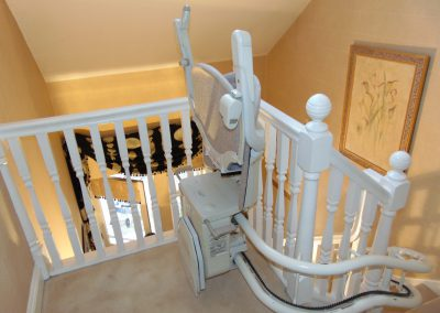 Halton Stairlifts Style Curved Stairlift