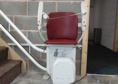 Halton Stairlifts Workshop Curved Stairlift
