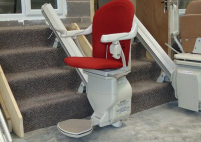 Halton Stairlifts Workshop Straight Stairlift