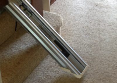 Hinged Straight Stairlift Track