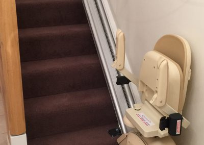 Folded Reconditioned Brooks 130 Stairlift