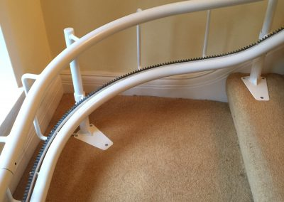 Reconditioned-Curved-Twin-Rail-Stairlift-Chairlift