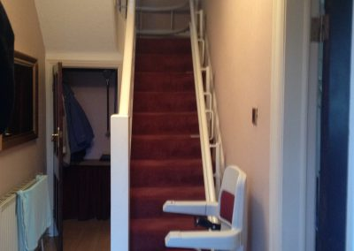 Stannah 260 Curved Sarum Stairlift