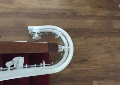 Stannah Curved Stairlift Track