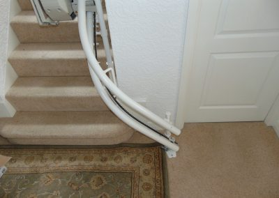 Stannah Sienna Curved Stairlift Chairlift Rail