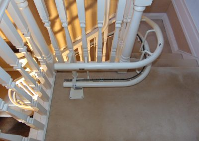 Stannah Solus Curved Stairlift Rail