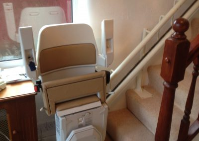 Used-Reconditioned-Spiral-Stair-Lift-Curved-Chair-Lift