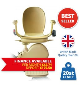 Halton Stairlifts | New-Brooks-Slimline-Finance