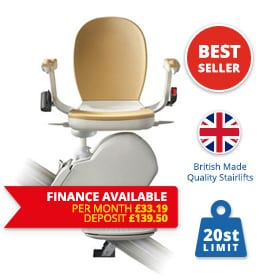 Halton Stairlifts | Reconditioned-acorn-Slimline-Finance