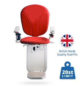 New Brooks Slimline Curved Stairlifts | Halton Stairlifts