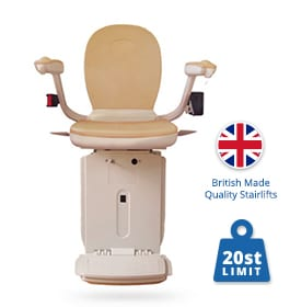 Reconditioned Brooks Curved Stairlifts | Halton Stairlifts