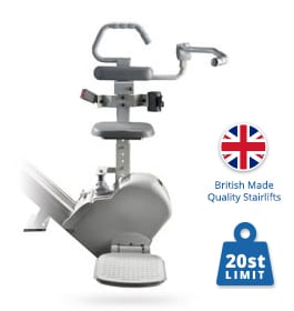 New Brooks Perch Stairlift | Brooks Straight Stairlifts