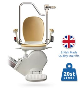 New Brooks Sit & Stand Stairlift | Brooks Straight Stairlifts