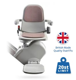 Reconditioned Acorn Budget Straight Stairlift | Straight Stairlifts | Halton Stairlifts