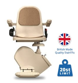 Reconditioned Brooks Budget Stairlift | Straight Stairlifts | Halton Stairlifts