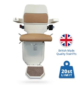 Reconditioned Acorn Curved Stairlifts | Halton Stairlifts