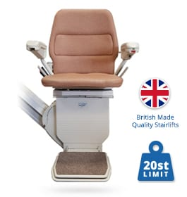 Reconditioned Stannah Saxon Stairlift | Stannah Straight Stairlifts | Halton Stairlifts