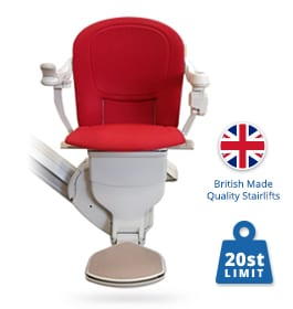 Reconditioned Stannah Stairlift Sofia | Stannah Straight Stairlifts | Halton Stairlifts