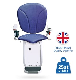 New & Reconditioned Platinum Horizon Curved Stairlifts | Halton Stairlifts