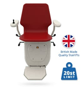 Infinity Curved Stairlifts | Halton Stairlifts