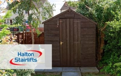 HALTON STAIRLIFTS | FROM SHED TO SHOWROOM