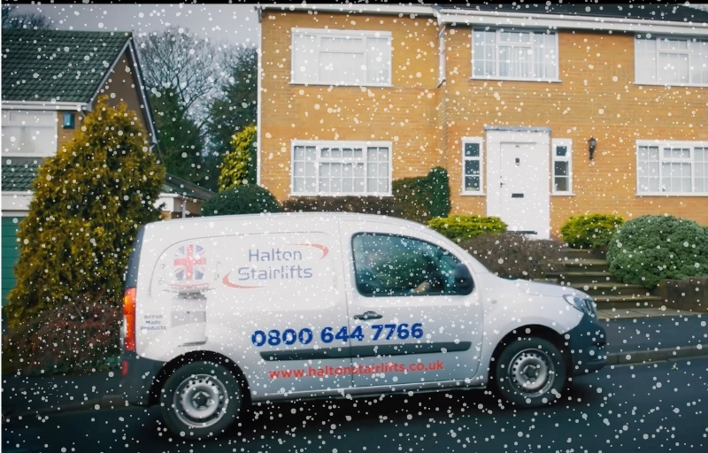 CHRISTMAS STAIRLIFT DELIVERY