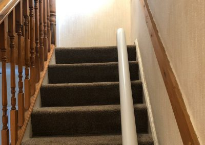 Platinum Ultimate Curved Stairlift Rail