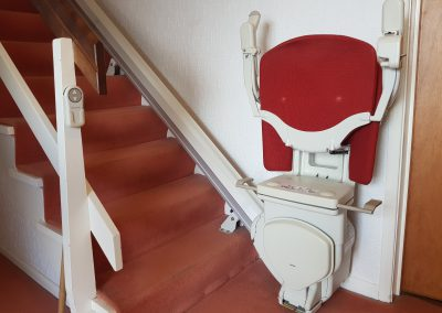 Stannah Straight Stairlifts Folded